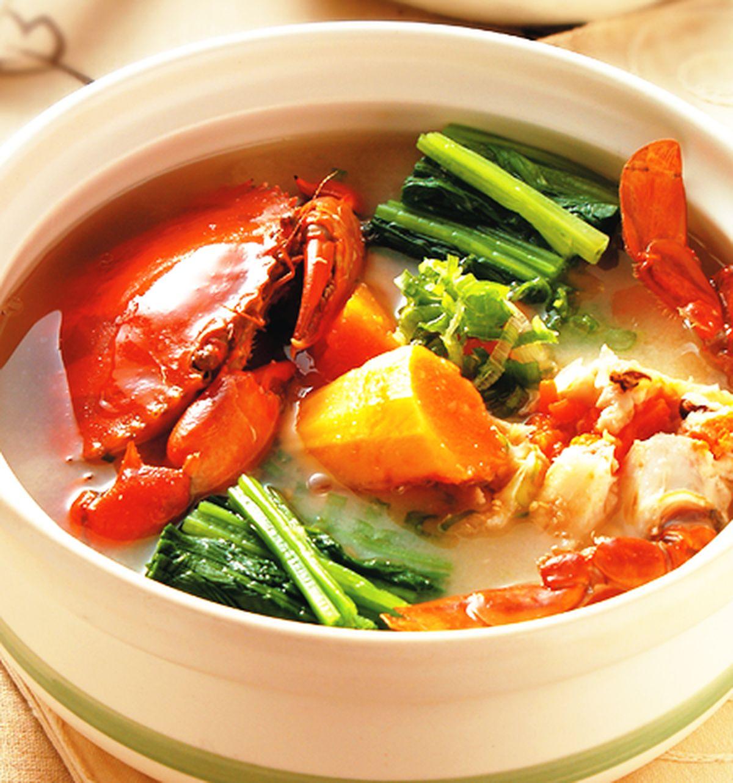 食譜:木瓜味噌紅蟳鍋