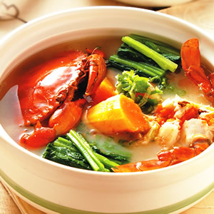 木瓜味噌紅蟳鍋