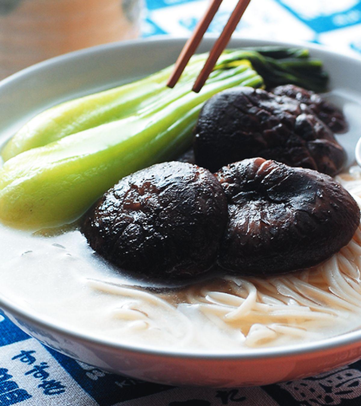食譜:香菇煨麵