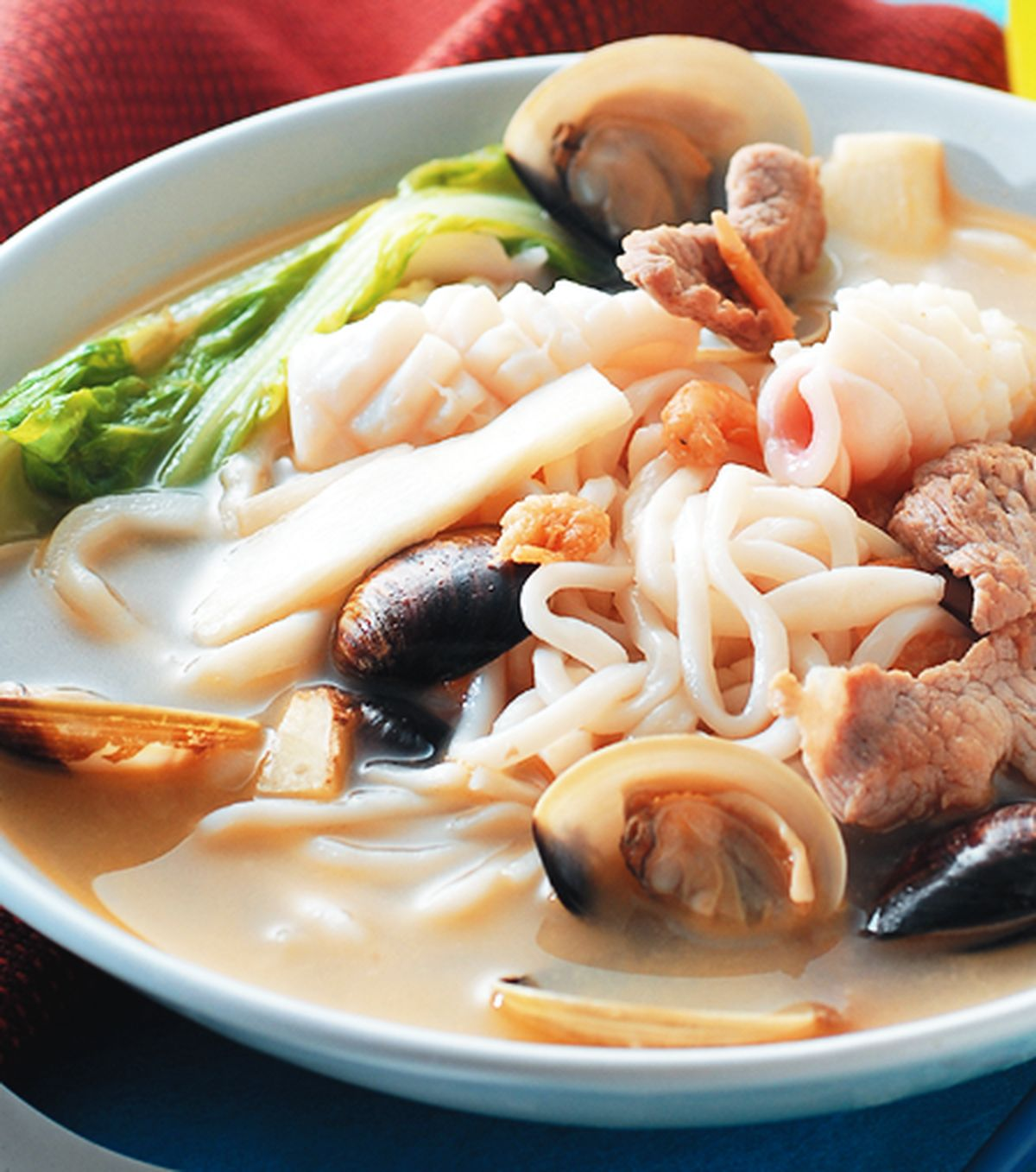 食譜:海味煨麵