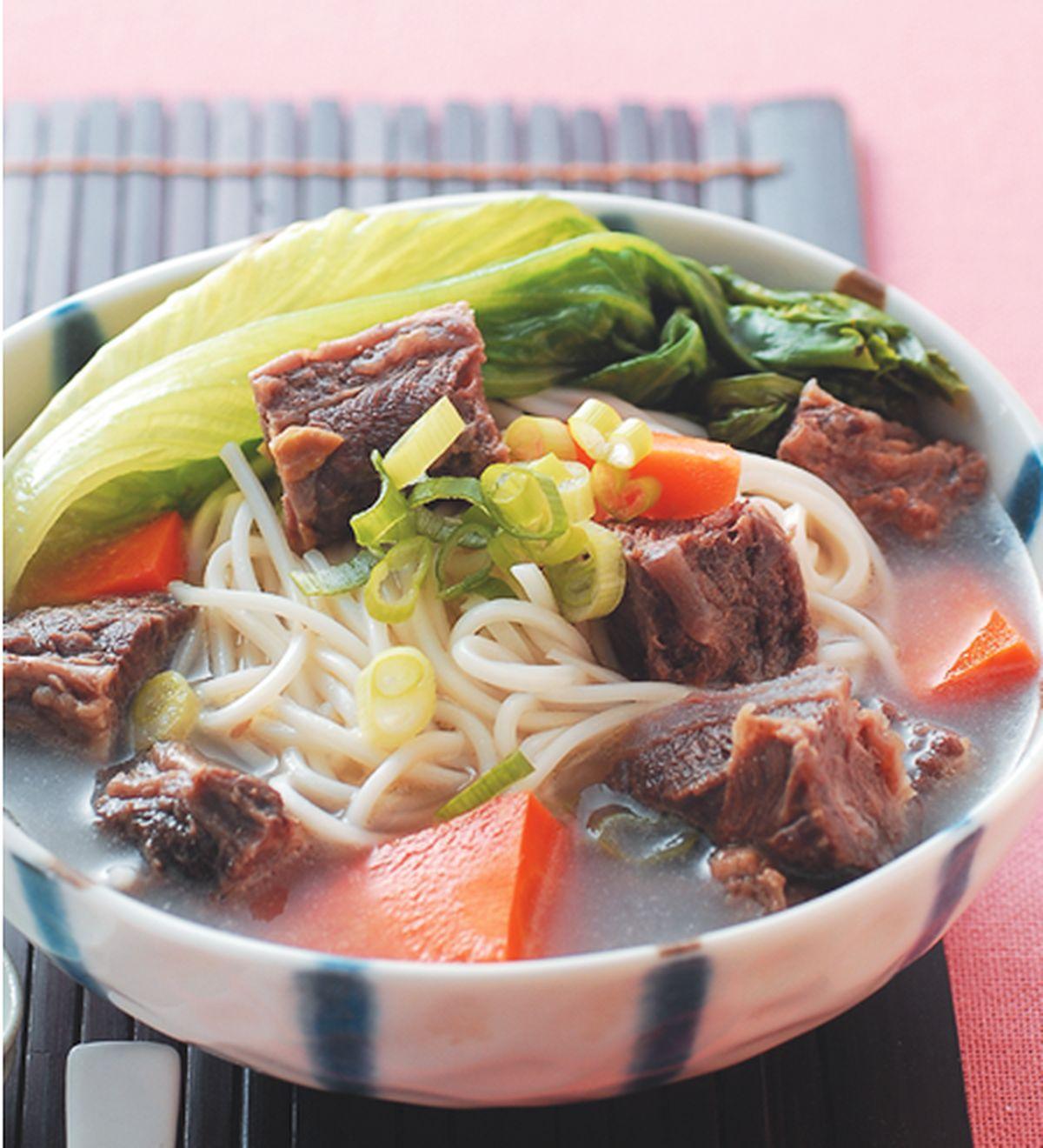 食譜:牛肉煨麵