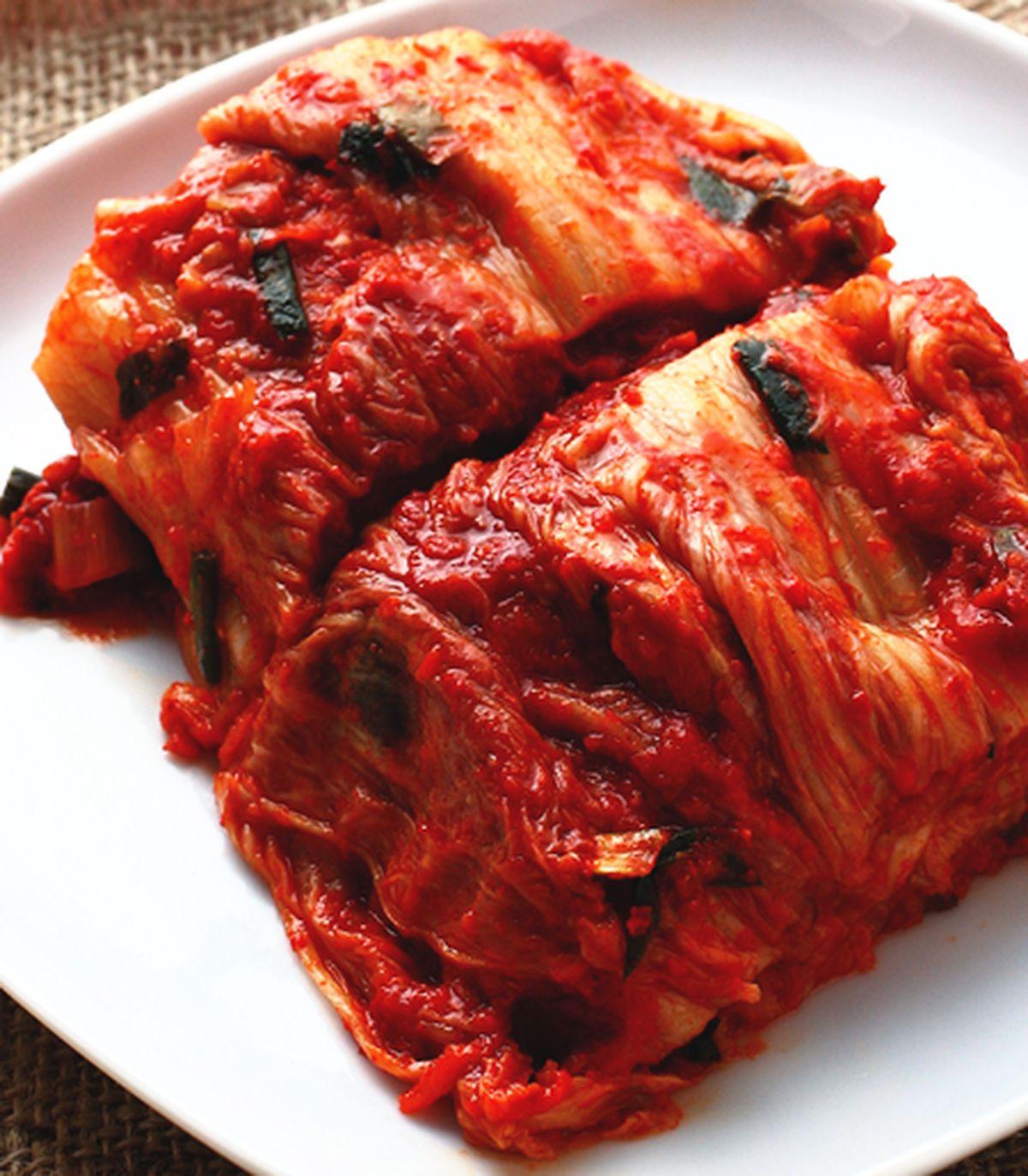 食譜:海鮮白菜泡菜