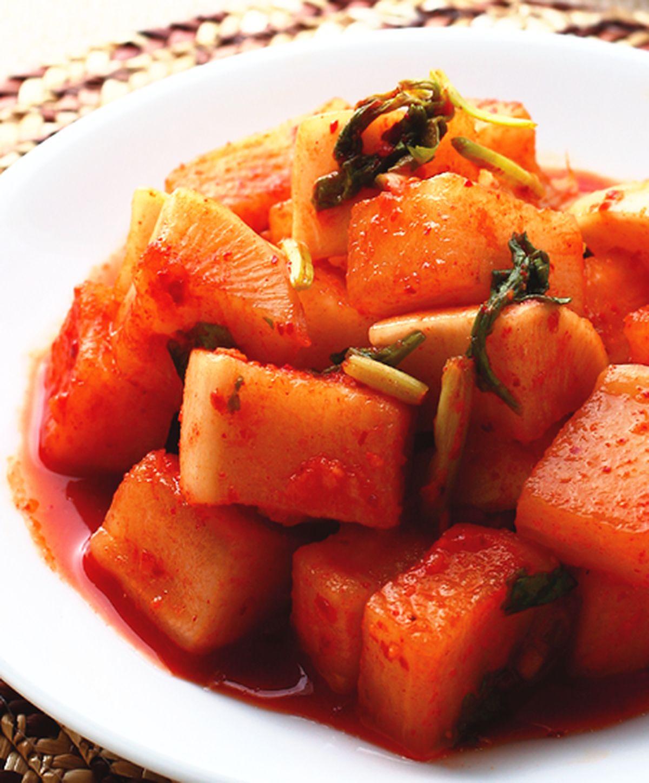 食譜:白蘿蔔泡菜