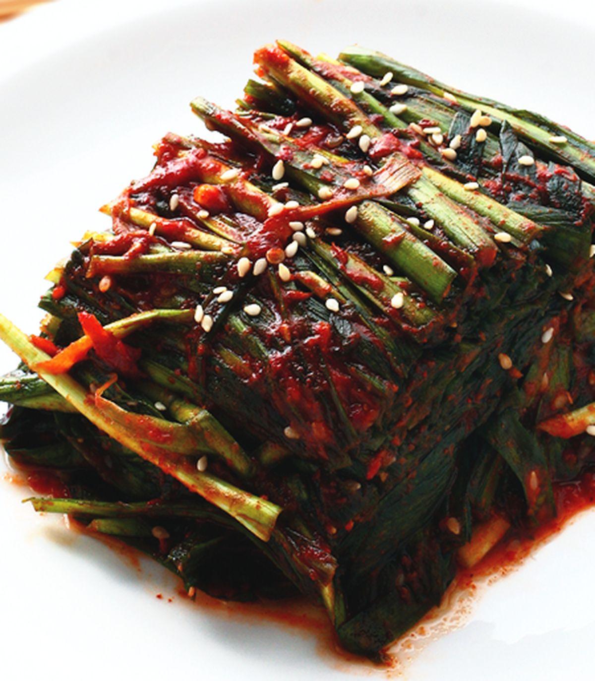 食譜:韭菜泡菜(1)