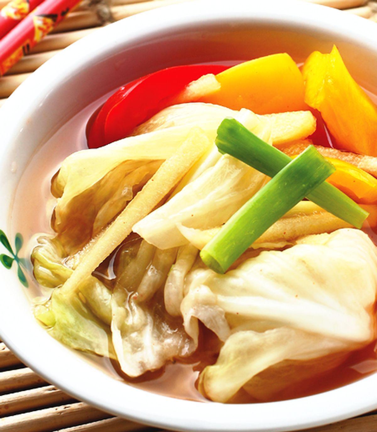 食譜:高麗菜水泡菜