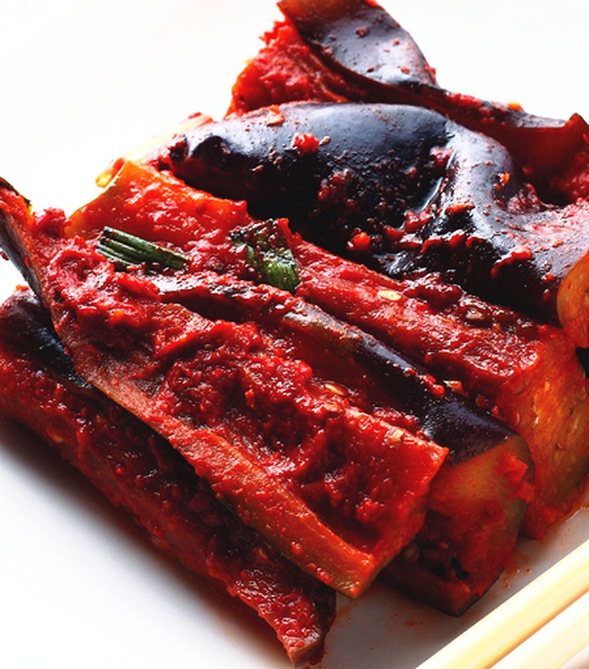 食譜:茄子泡菜(1)
