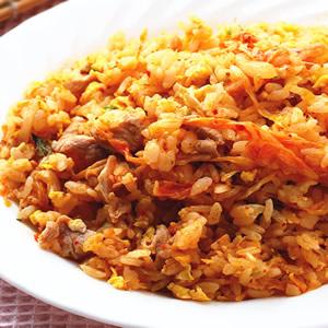 泡菜炒飯(2)
