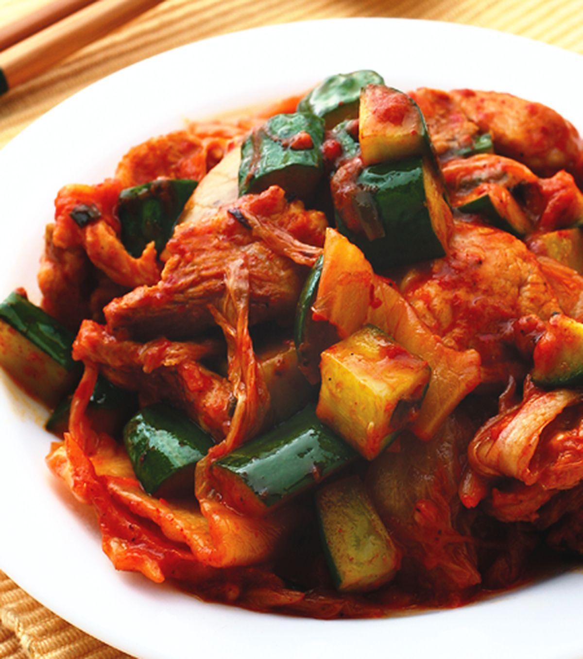 食譜:泡菜炒肉片