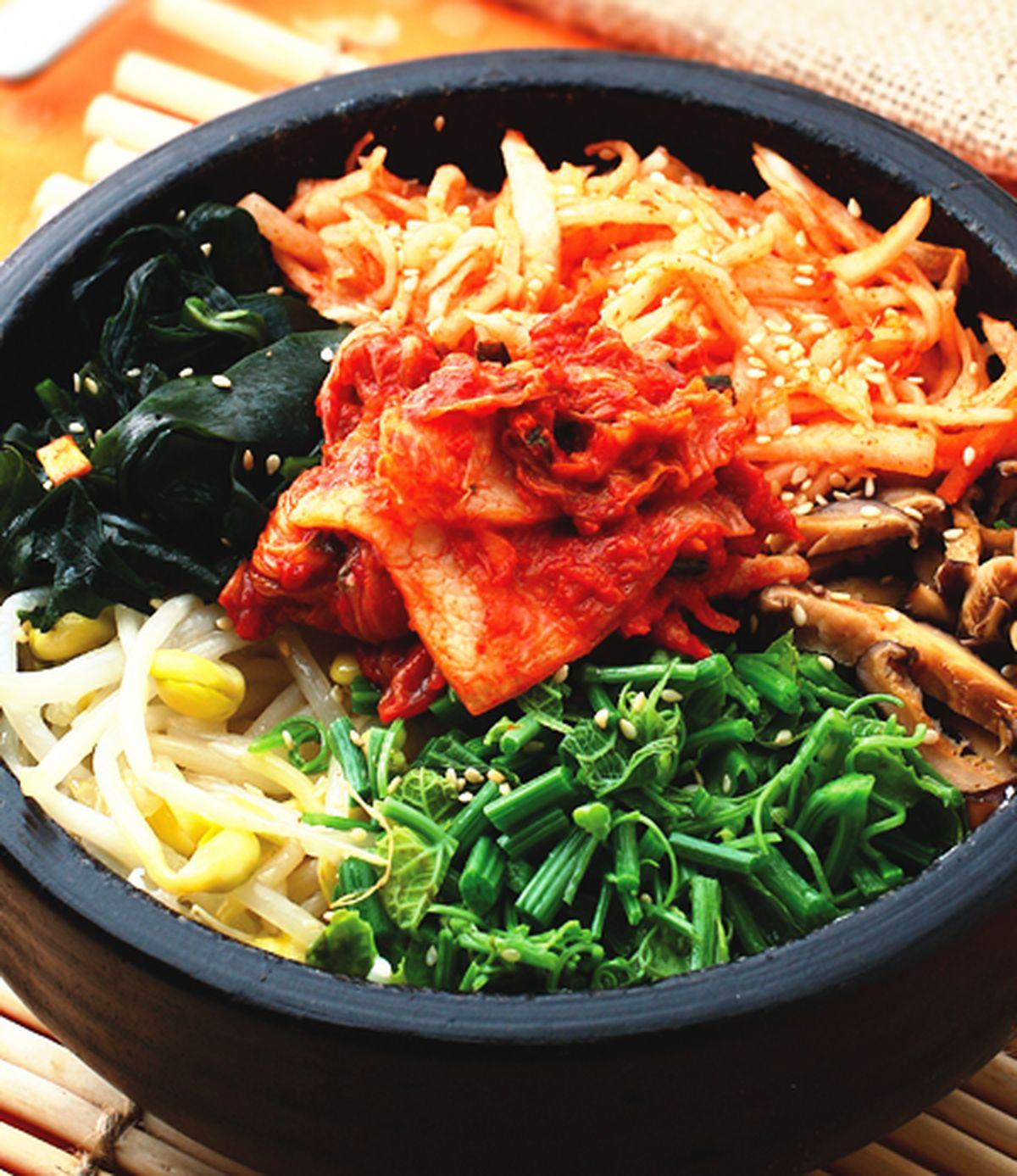 食譜:泡菜拌飯
