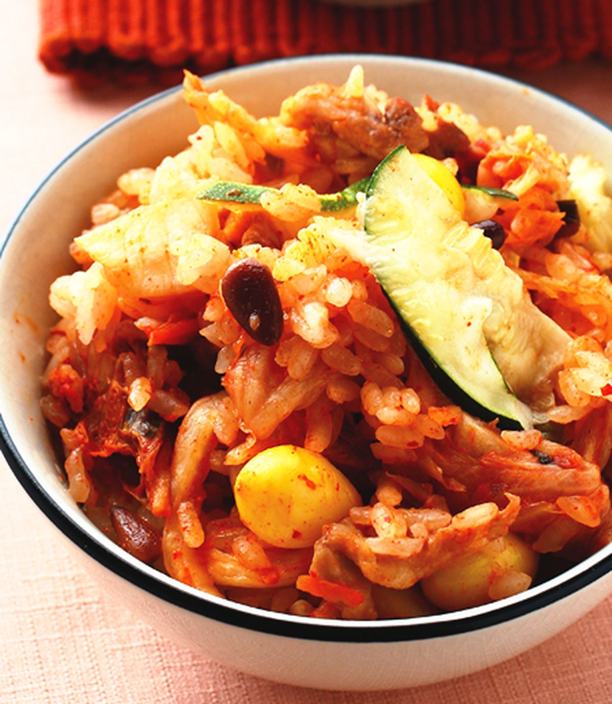 食譜:泡菜蒸飯