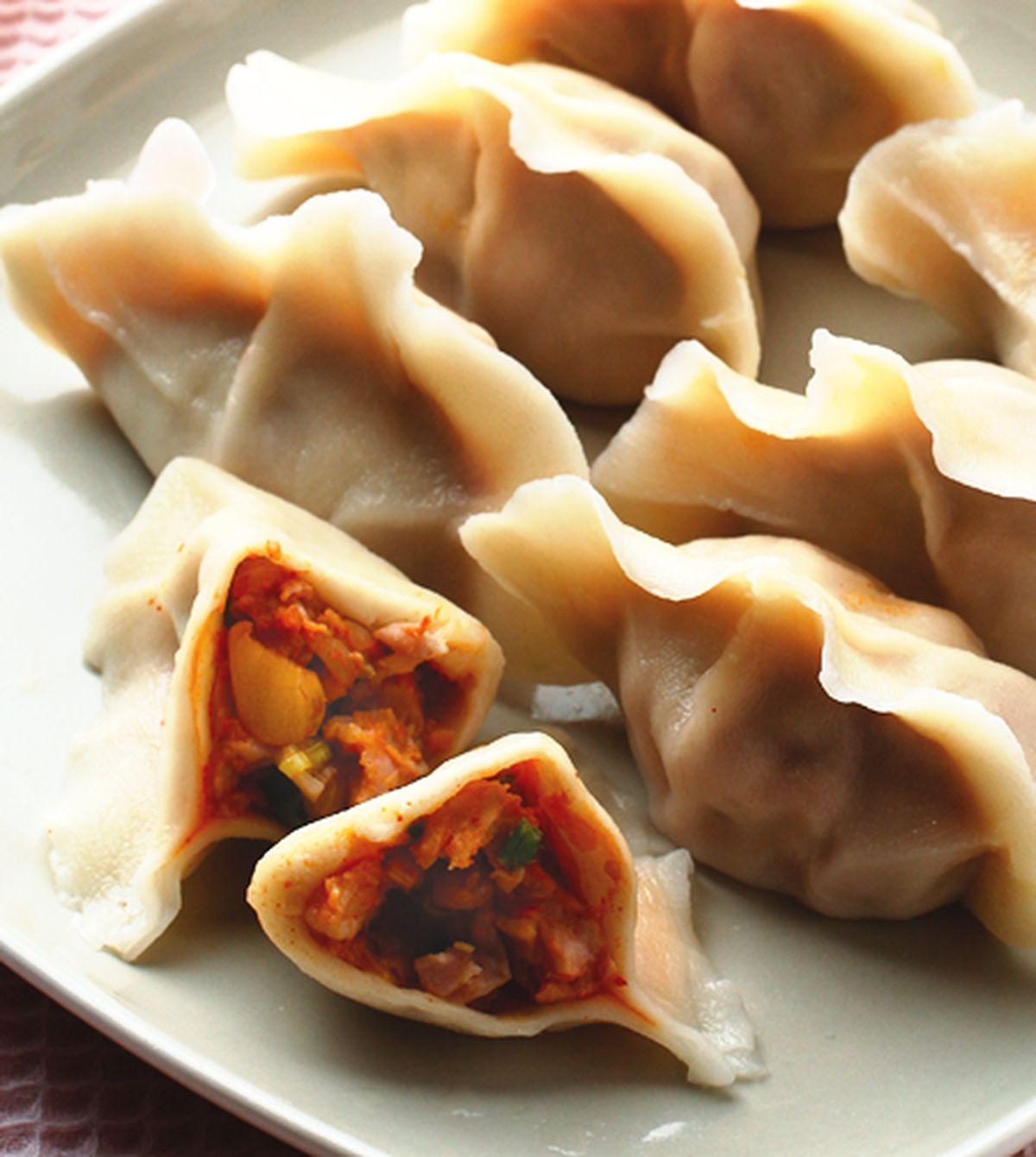 食譜:泡菜水餃