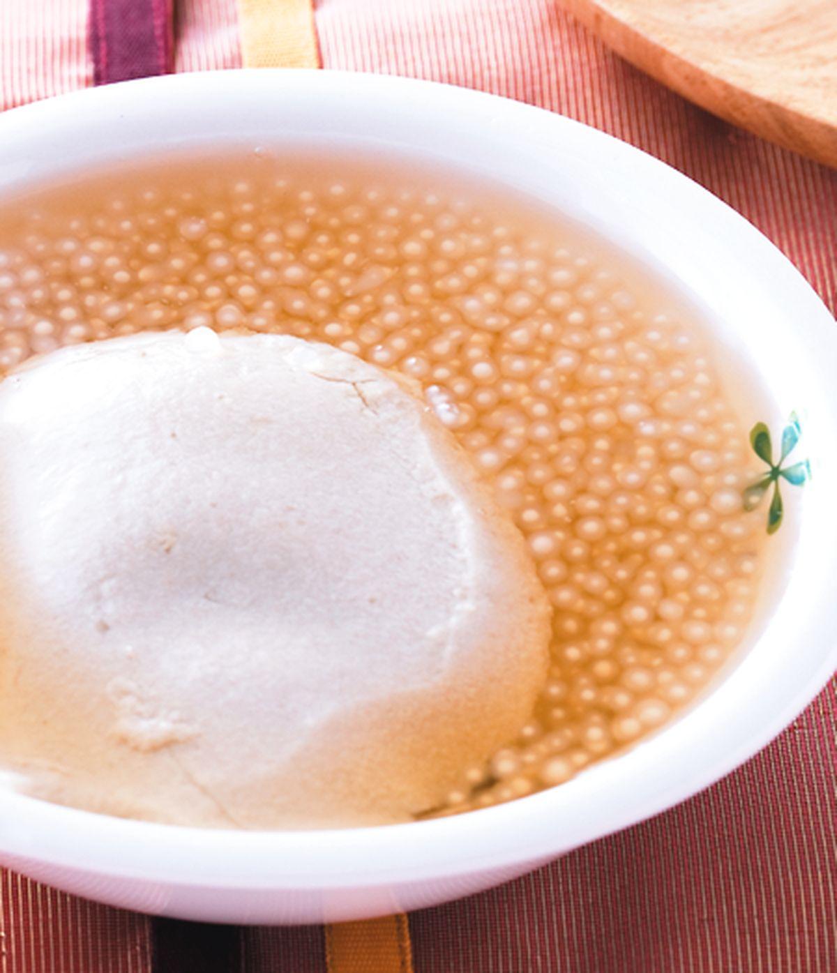 食譜:豆花西米露