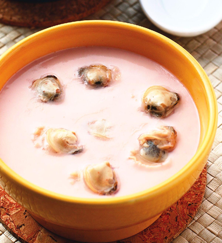 食譜:紅糟蜆肉蒸蛋