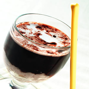 椰汁芋泥紫米