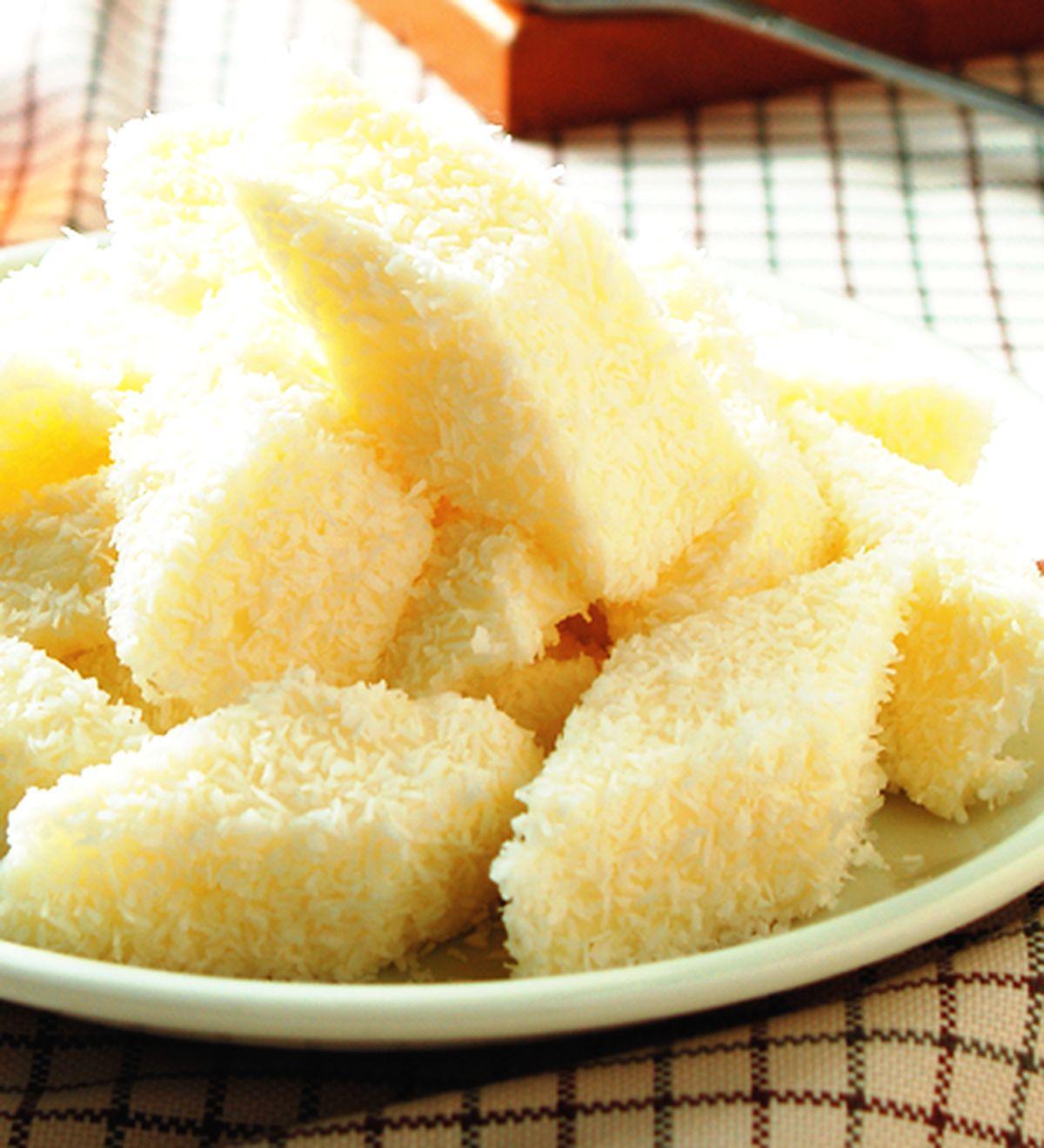 食譜:椰蓉奶凍
