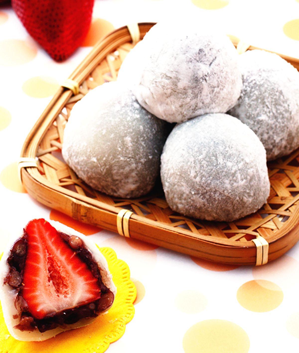食譜:草莓大福(1)