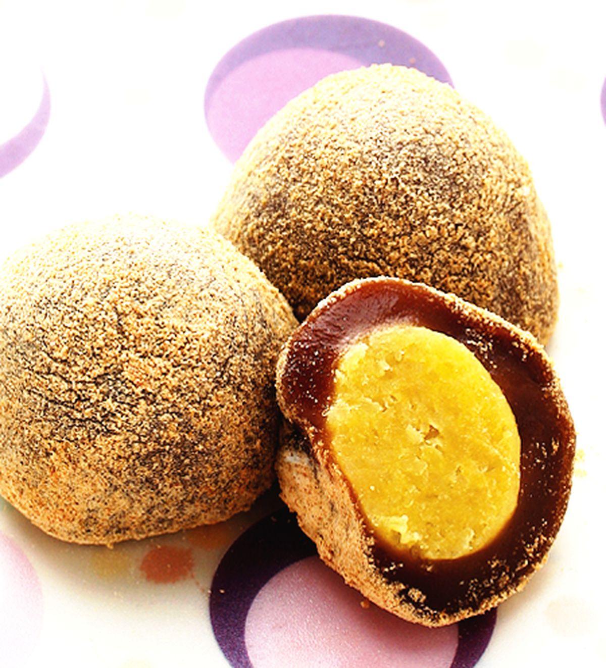 食譜:黑糖地瓜麻糬