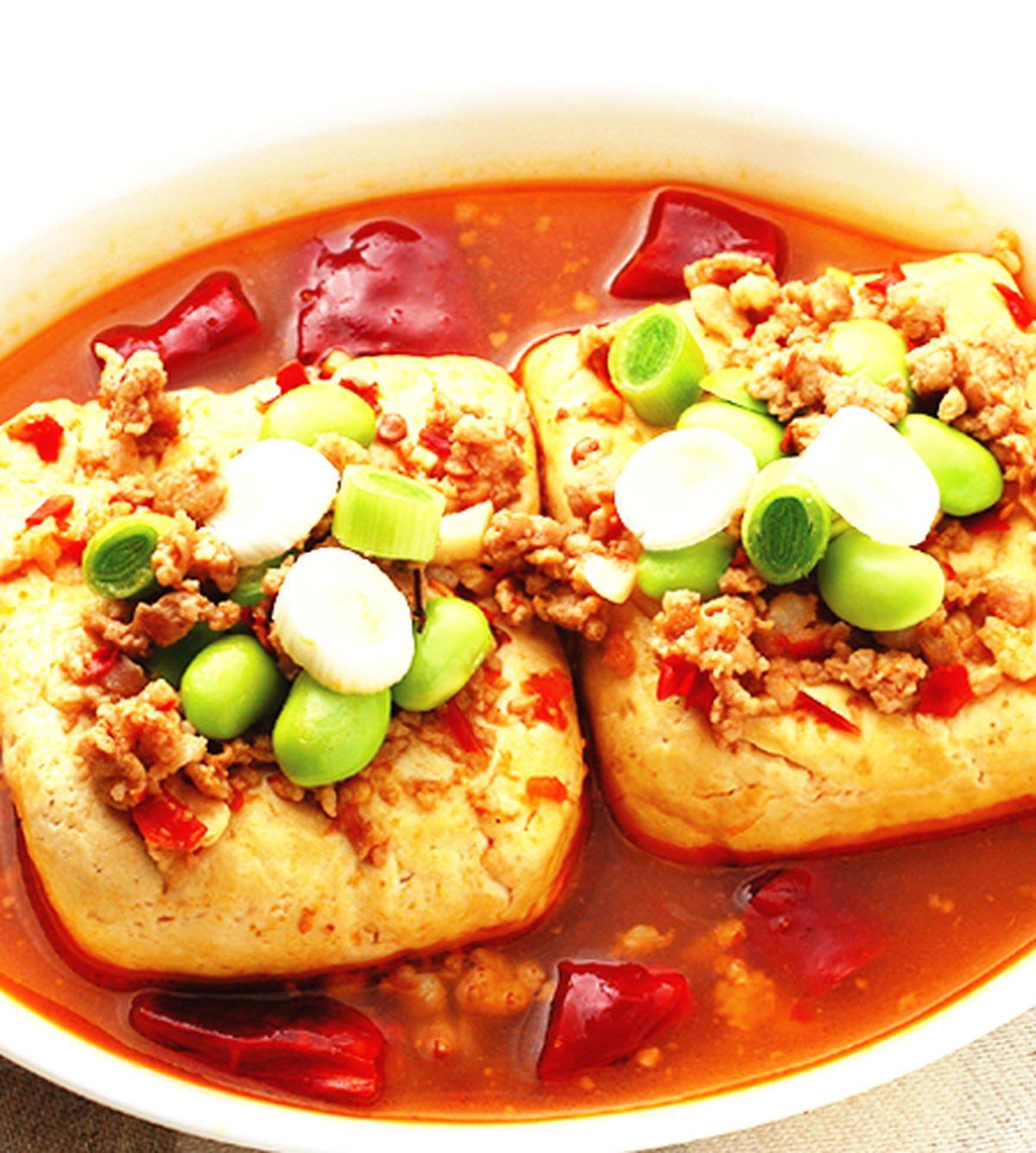 食譜:麻辣臭豆腐(4)