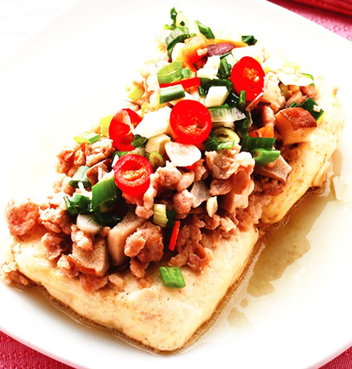食譜:清蒸臭豆腐(3)