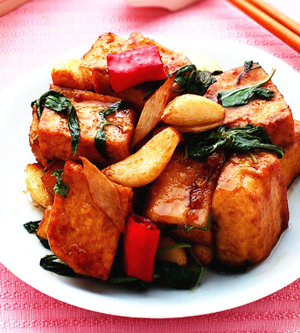 食譜:三杯臭豆腐(1)