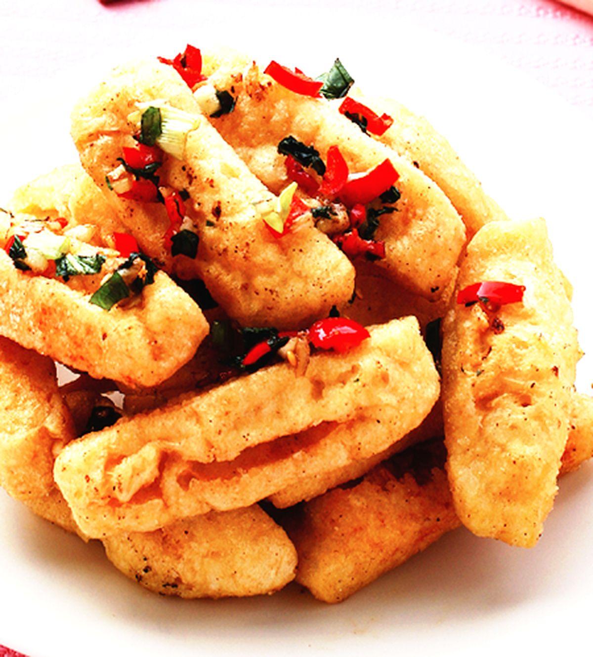 食譜:椒鹽臭豆腐