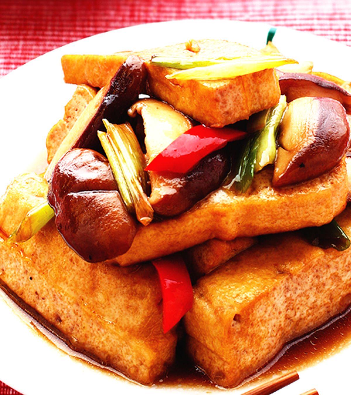 食譜:紅燒臭豆腐