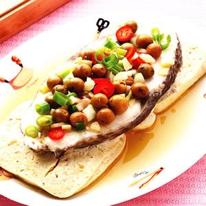 鱈魚蒸臭豆腐