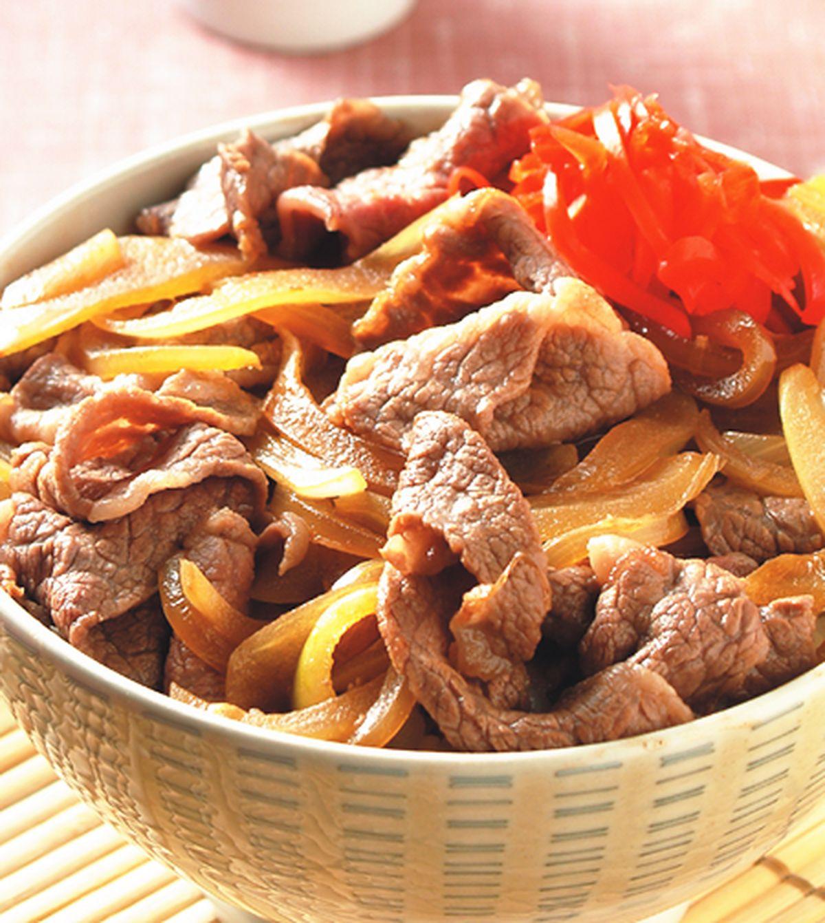 食譜:經典牛肉丼飯