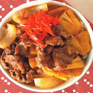 鳳梨牛肉丼