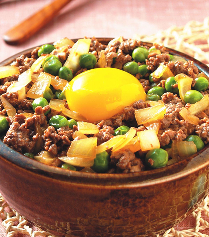 食譜:窩蛋牛肉丼