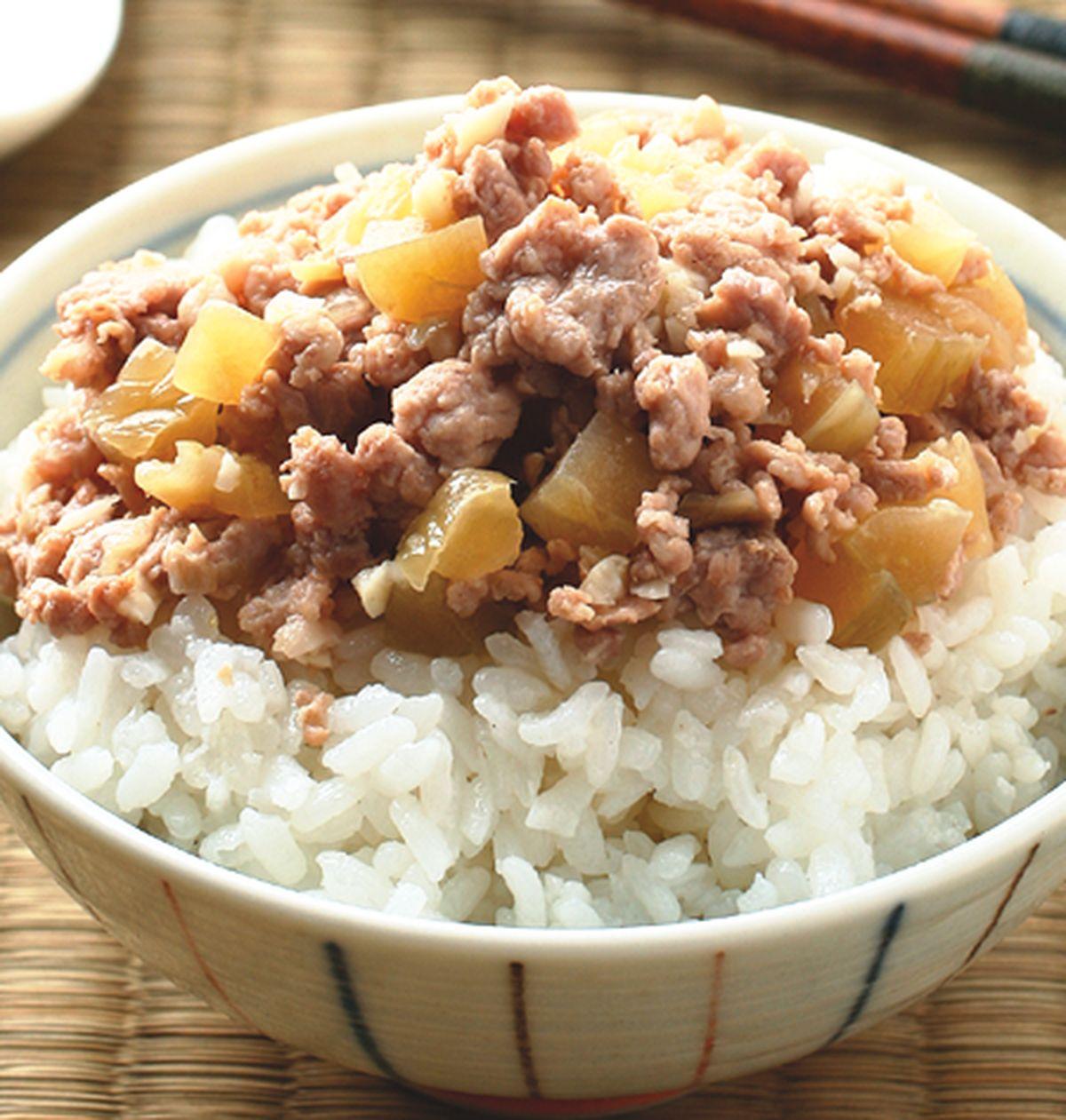 食譜:瓜仔肉飯(1)