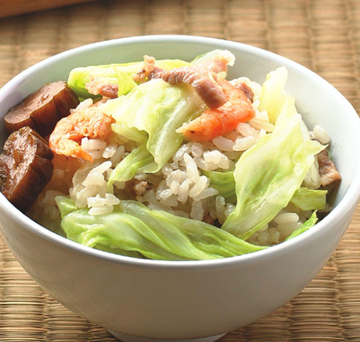 食譜:高麗菜飯(2)