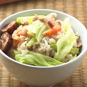 高麗菜飯(2)
