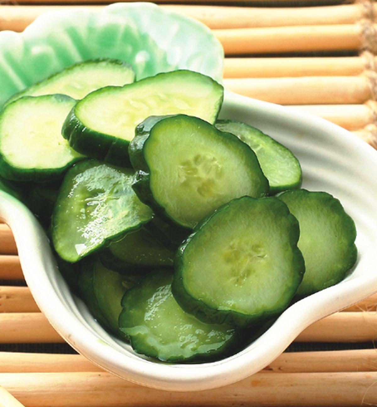 食譜:小黃瓜片
