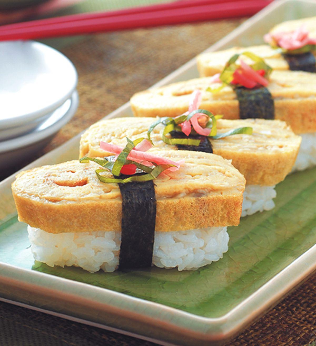 食譜:厚蛋握壽司