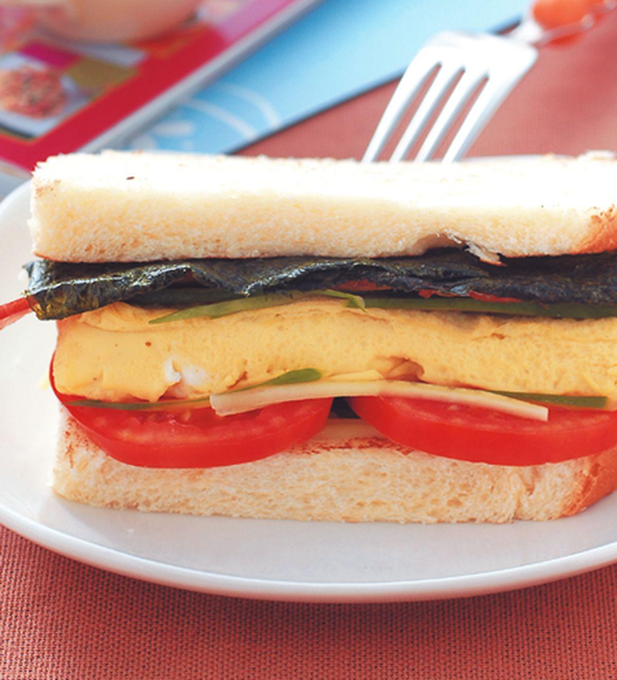 食譜:厚蛋三明治