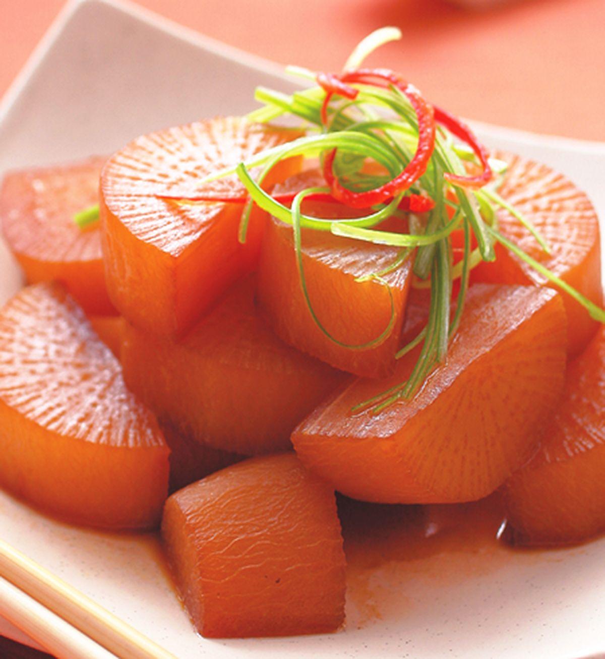 食譜:滷蘿蔔