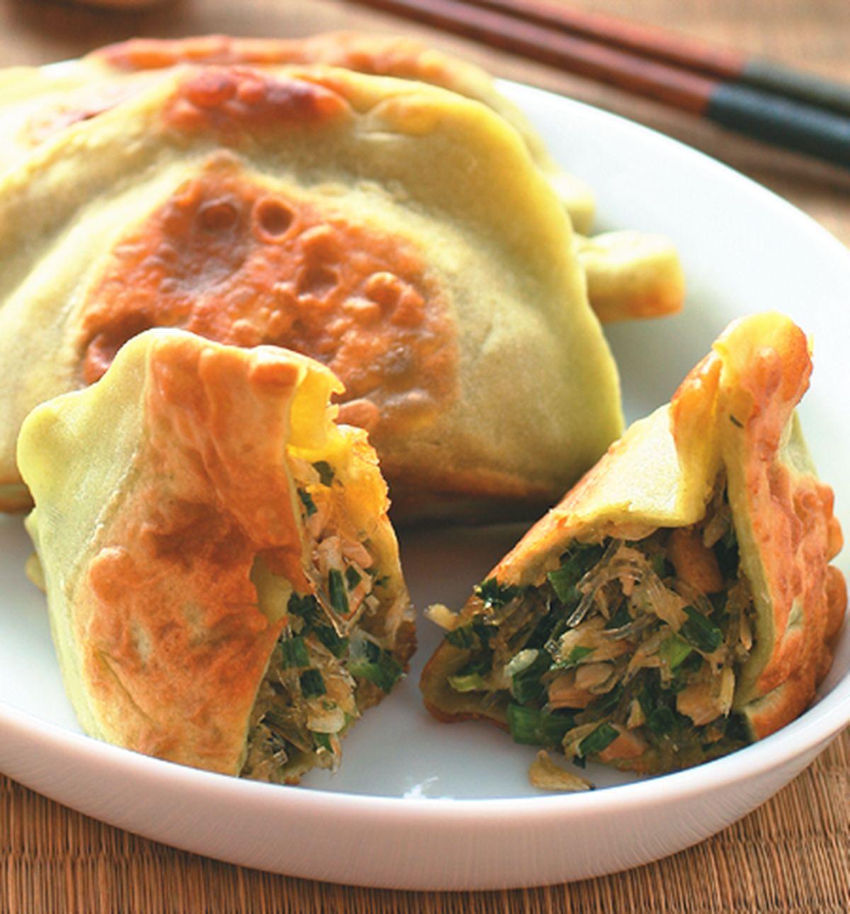 食譜:菠菜皮韭菜盒