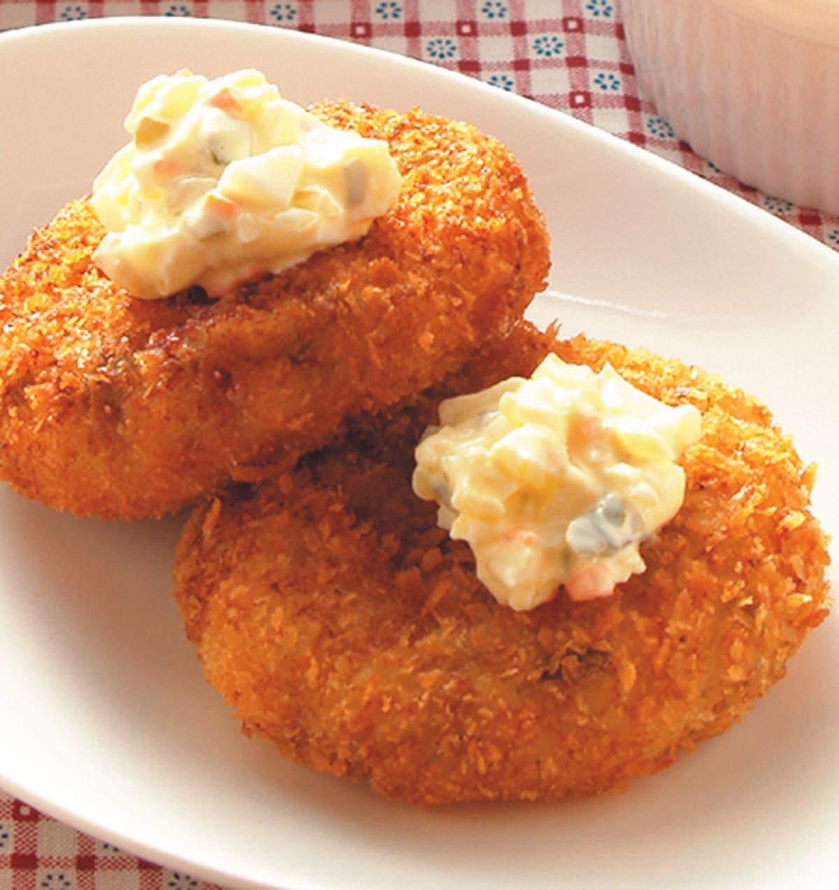 食譜:白醬蘑菇可樂餅