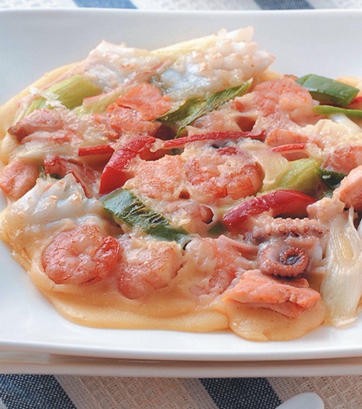 食譜:綜合海鮮煎餅(1)
