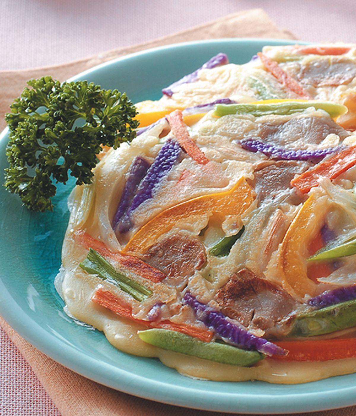 食譜:蔬菜總匯煎餅