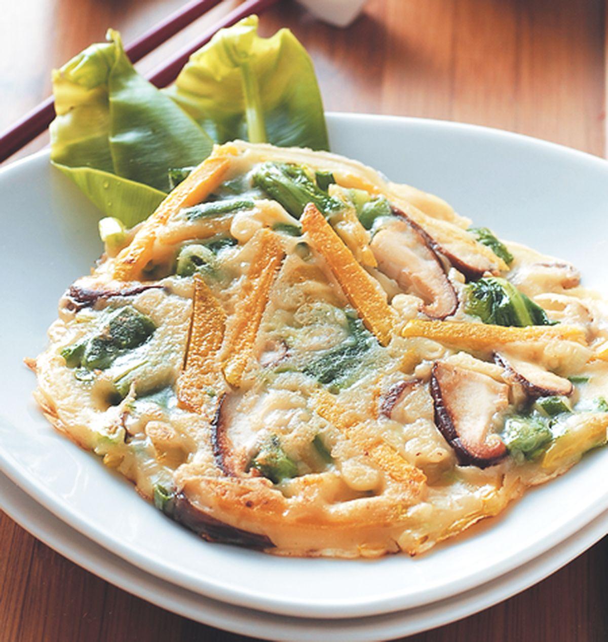 食譜:什錦野菜煎餅