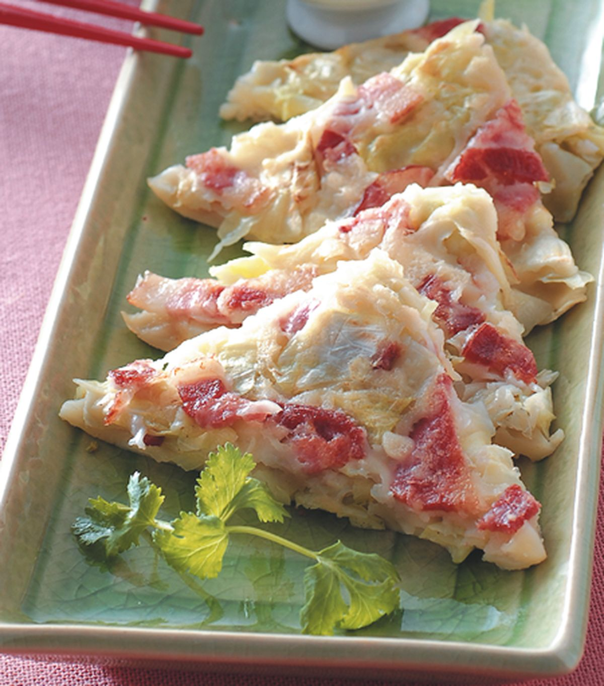 食譜:高麗菜培根煎餅