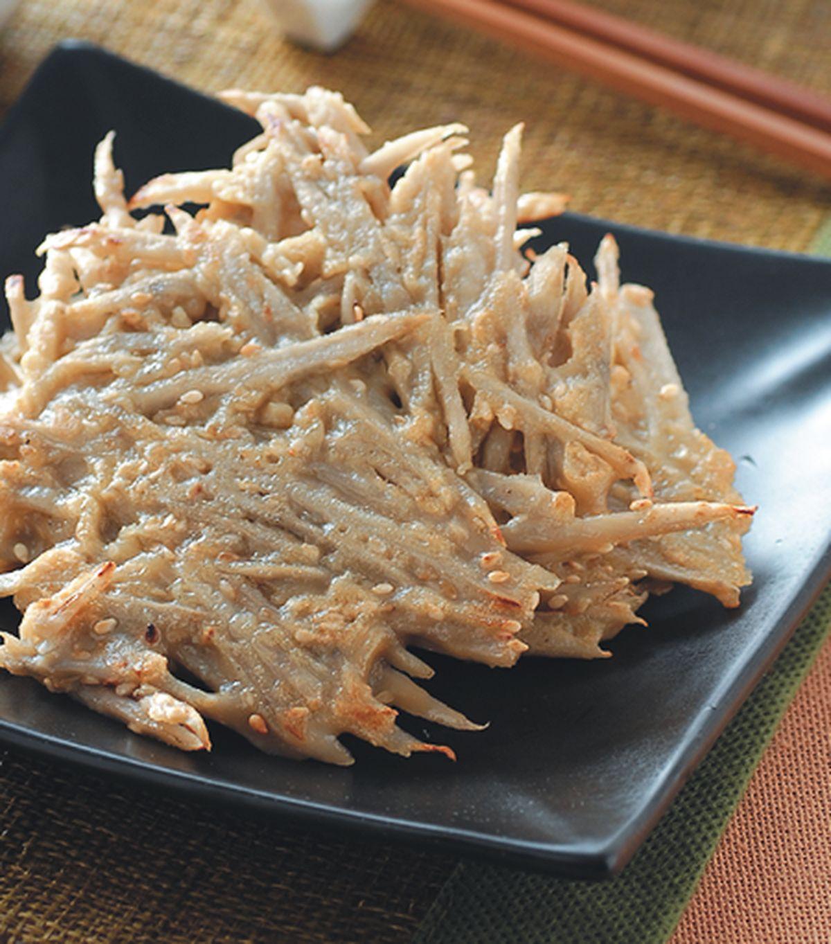 食譜:牛蒡芝麻煎餅
