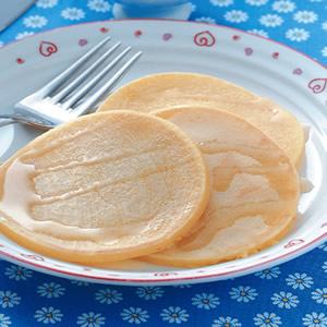 玉米蜂蜜煎餅
