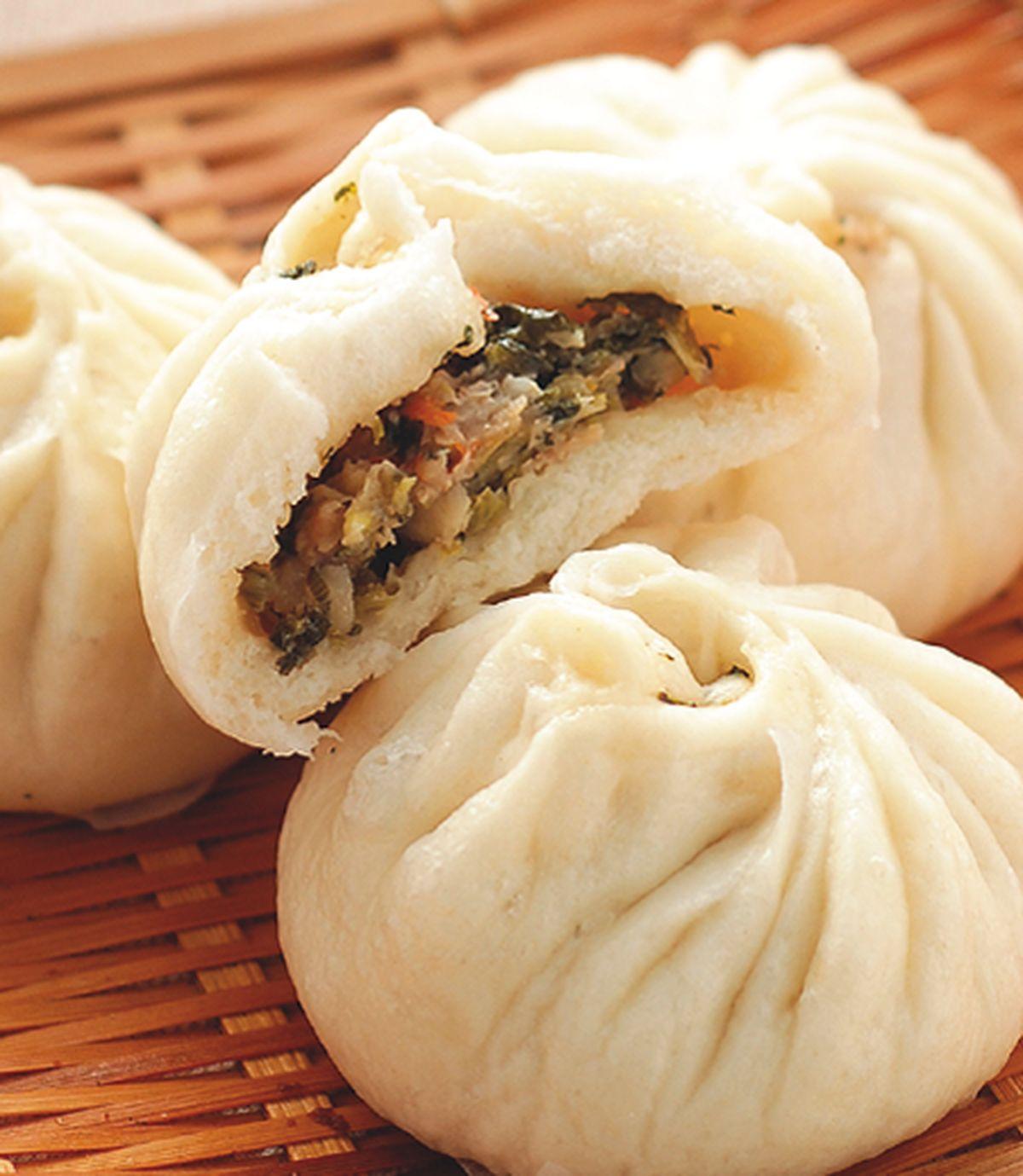 食譜:傳統菜包