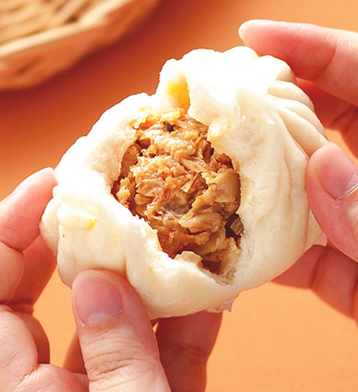 食譜:韓式泡菜包