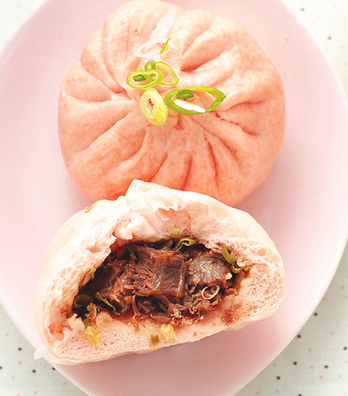 食譜:紅麴牛肉包