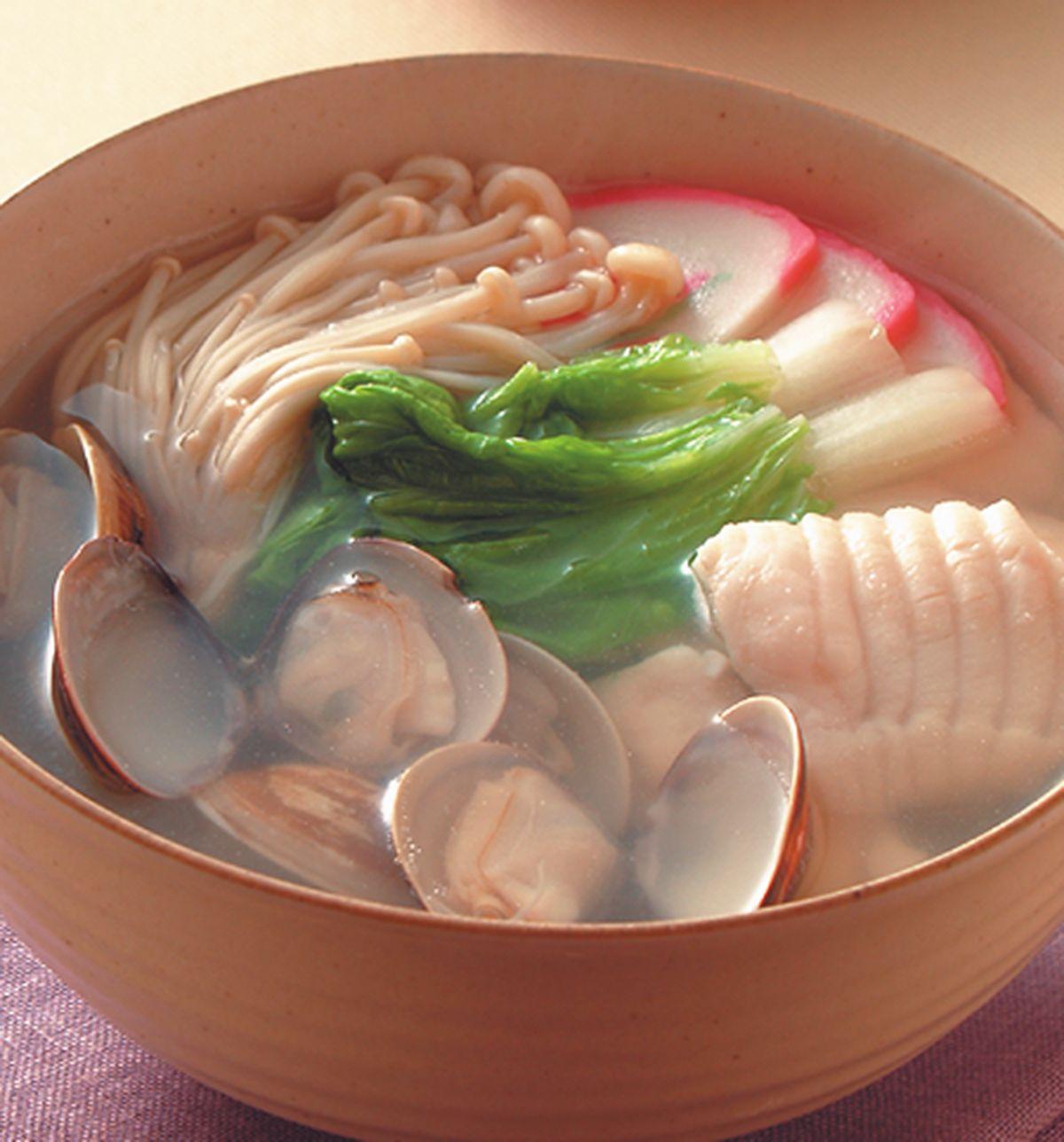 食譜:鮮魚蚌麵