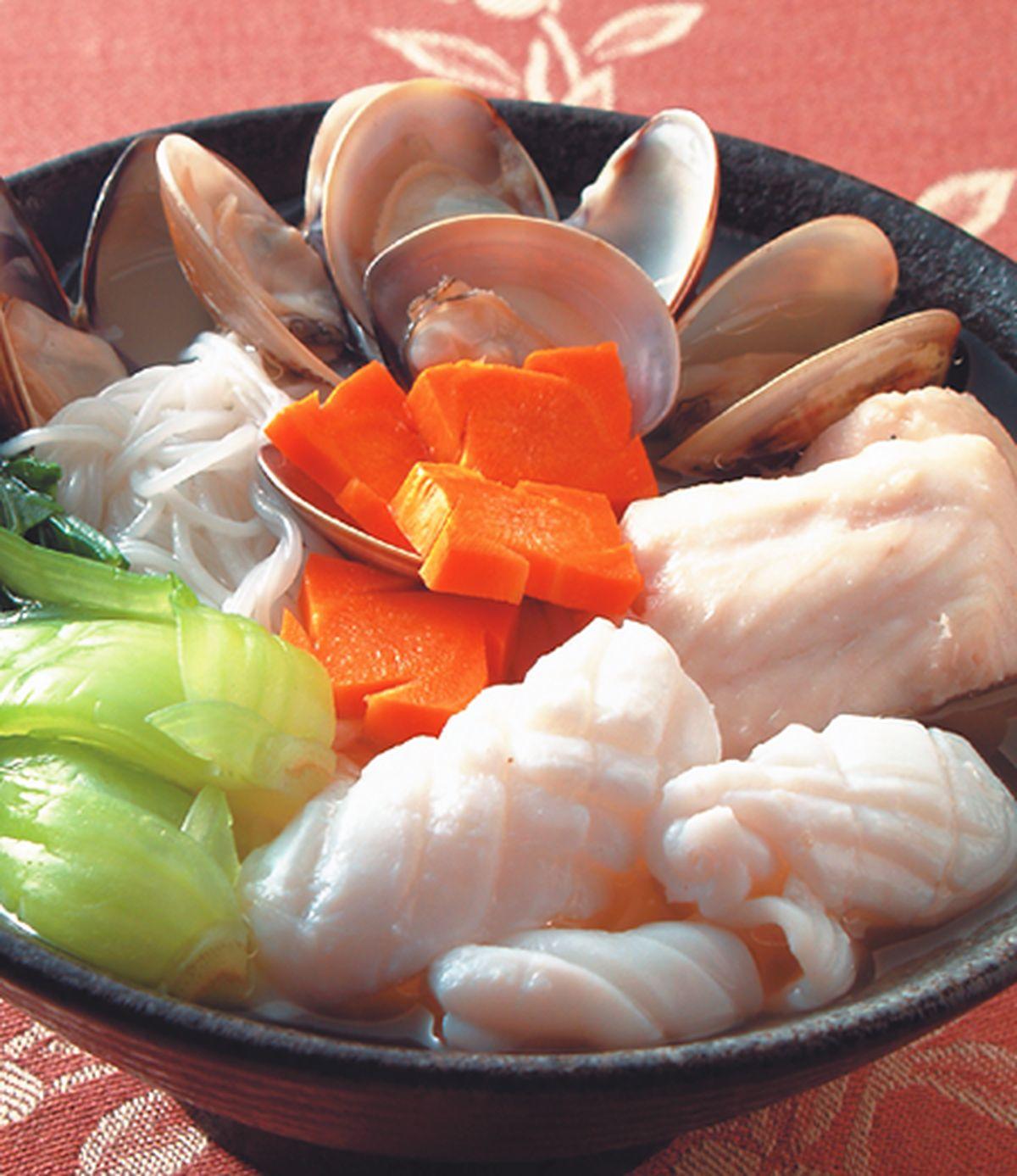 食譜:海鮮蚌米粉